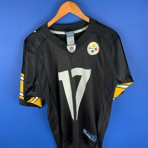 Mike Wallace #17 Steelers jersey